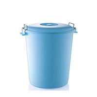 Hobby Life Plastik 3 No Kilitli Çöp Kovası(45Lt)