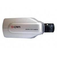 D-CAM D-3306 SONY CCD BOX KAMERA + 4MM AUTO VARIFOCAL DC LENS + AYAK