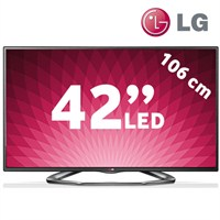 """LG 42LA620S 42"""" WiFi Uydu Alıcılı 3D SMART FULL HD LED TV + 4 Adet 3D Gözlük"""