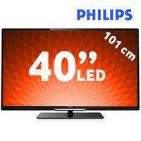 "Philips 40PFL4508K 40"" 200Hz WiFi Uydu Alıcılı UsbMovie SMART 3D FULL HD LED TV"