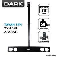 Dark DK-AC-VT12 37'-70' Tavan TV Askı Aparatı