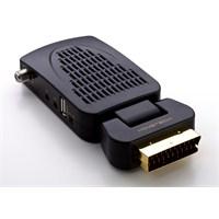 Hometech HT150 Mini Scart Uydu Alıcı