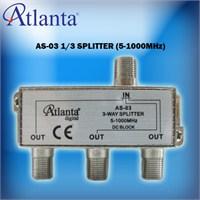 Atlanta AS-03 1/3 Uydu Bölücü (5-1000 MHz)