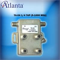 Atlanta TA04 1/4 Tap Sinyal Düşürücü (5-1000 MHz)
