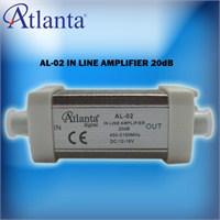 Atlanta Al 02 In Line Sinyal Güçlendirici (20 Db)