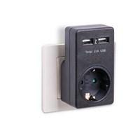eye-Q EQ-UA1B 2 USB'li Priz (2 x 1000mA veya 1 x 2.1 A )
