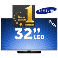 "Samsung UE-32F5570 32"" Uydu Alıcılı WiFi UsbMovie SMART FULL HD LED TV"