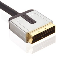 Profigold PROV-7101 Altın Uçlu Scart Kablo (1 metre)