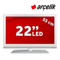 """Arçelik A22 LW X329 22"""" 100Hz Full HD LED TV (Beyaz)"""