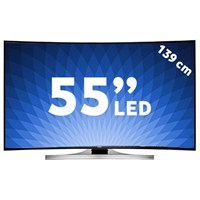 "Samsung UE-55HU8200 55"" Smart Curve [ 4K ] ULTRA HD LED TV + 4 Adet 3D Gözlük Hediye"