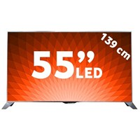 "Philips 55PFS8109 55"" 140 Ekran Full HD 800 Hz Uydu Alıcılı 3D Smart LED Ambilight TV"