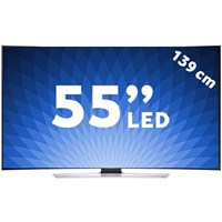 "Samsung UE-55HU8500 55"" 1200Hz Smart 3D Curved [ 4K ] ULTRA HD LED TV+ 4 Adet Gözlük"