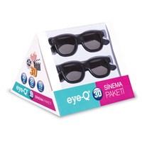 EYE-Q 5'li Sinema Paketi (2 adet 1.4 versiyon 1,5 m HDMI altın uçlu kablo+2 adet 3D gözlük+1 adet optik kablo)