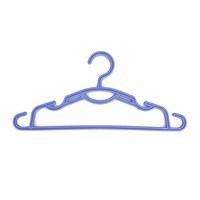 Titiz Mavi Çocuk Elbise Askısı 12 Li