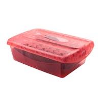 Titiz Tidy Up Küçük Boy Kırmızı 3 Lü Ayakkabı Ve Eşya Saklama Kutusu
