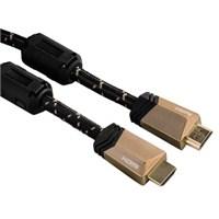 Hama HS EthernetManyetik Filtre Altın Uçlu 5S 1.5m HDMI Kablo