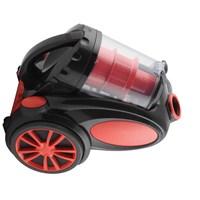 Blue House BH022DC Potency 2200W Toz Torbasız Hepa Filtreli Elektrikli Süpürge - Siyah Kırmızı