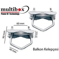 Multibox Balkon Kelepcesi