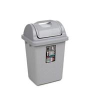 Bora Köşeli Çöp Kovası 3 Litre İtmeli No: 1