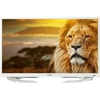 """Axen 32"""" 82 Ekran Kapadokya Usb Movie LED Ekran (Beyaz Tasarım) + Uydu alıcı"""