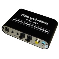 Playvision HDA-51A Digital Sound Decoder