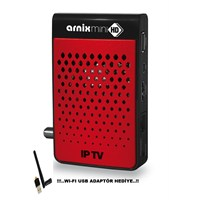 Arnix Mini FULL HD CX -IP TV Uydu Alıcısı + Wifi Anten