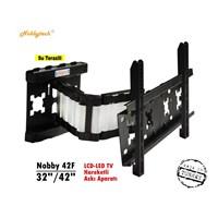 Nobbytech 42F 32''-42'' Katlanabilir Lcd-Led Tv Askı Aparatı
