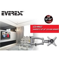 Everest LCD-HR617 10''-24'' Hareketli Lcd & Led Tv Askı Aparatı