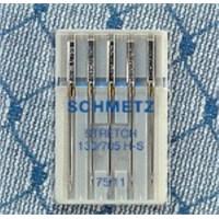 Schmetz Elastik Kumaşlar İçin Dikiş İğnesi 75 Numara 5'li Paket