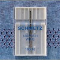 Schmetz Kenar Bastırma İğnesi (Gevşek Dokulu Kumaşlar Süs Dikişleri) 100 Numara Tekli Paket