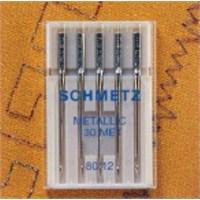 Schmetz Özel Sim Ve Metal İplikler İçin Nakış İğnesi 80 Numara 5'li Paket