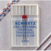 Schmetz Universal Çok Amaçlı Çift İğne 4.0 80 Numara Tekli Paket
