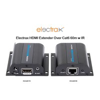 Elctrx-04 Electrax HDMI over Single CatX 60m 1080p Uzatıcı IR Set