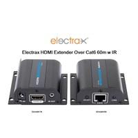 Elctrx-04 Electrax HDMI over Single CatX 60m 1080p Uzatıcı IR Set