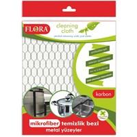 Flora Mikrofiber Bez(Karbon)