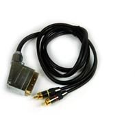 Sbs Hlv-31215 Scart/2XRCA Kablo (1,5 metre)