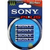 Sony AM4B4A 4 Adet Alkalin İnce Pil (AAA Boy)