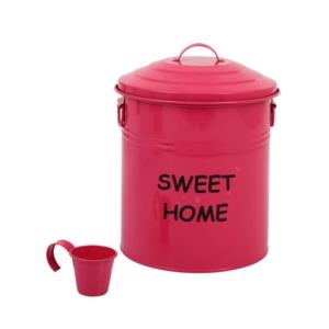 kitchen love metal sweet home deterjanlık & çöp kutusu