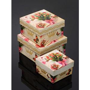 kitchen love kare 3 lü hediyelik kutu