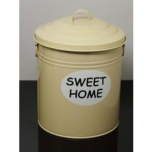 kitchen love sweet home metal cöp kutusu