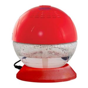discover led ışıklı geniş alan kokulandırma ve hava temizleme cihazı - kırmızı