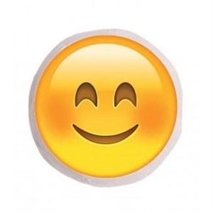 uygun gülen surat emoji yastık