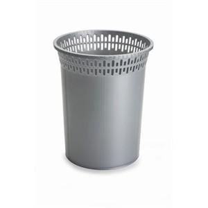 bora plastik lüks çöp sepeti 8 litre no 2 - bo 046 - gri