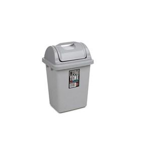 bora multitone plastik köşeli çöp kovası itmeli 3,25 litre no 1 - bo 192 - gri