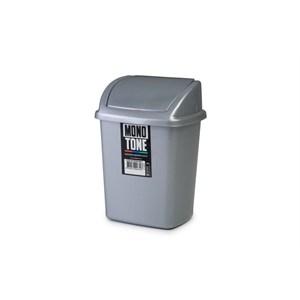 bora kilitli çöp kovası no 1 - bo 839 - gri