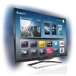 """Philips 55PFL8008K 55"""" 1400hz Wifi 3d Smart Led Tv"""