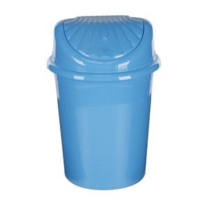 modelüks 45 lt istiridye çöp kovası - turkuaz