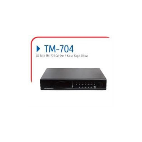 X5 Tech Tm-704 4 Kanal Hd Cvı Dvr Kayıt Cihazı