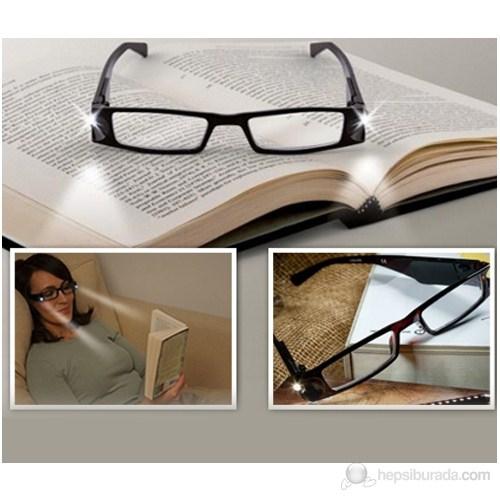 Vip Led Işıklı Kitap Okuma Gözlüğü