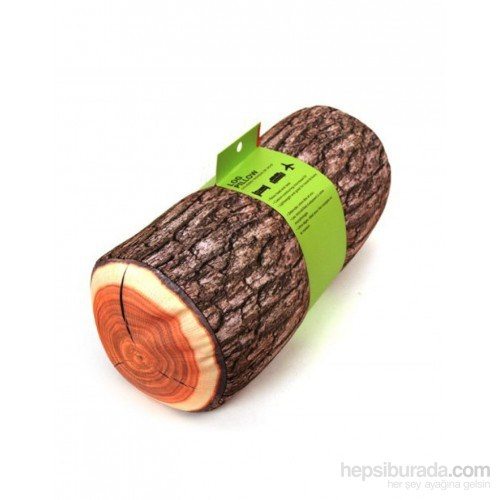 Vip Log Wood Pillow - Kütük Yastık